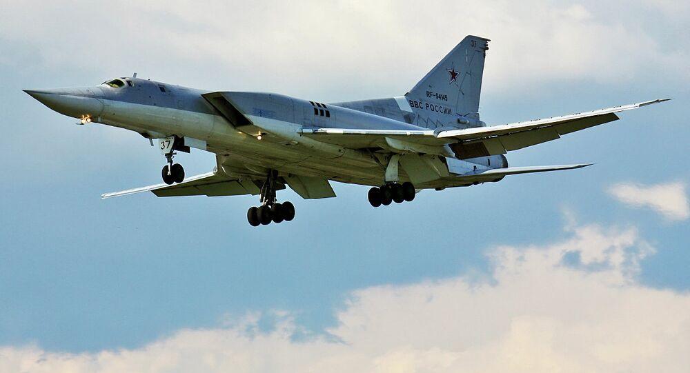 Bombardiere Tu-22M3 russo in Siria