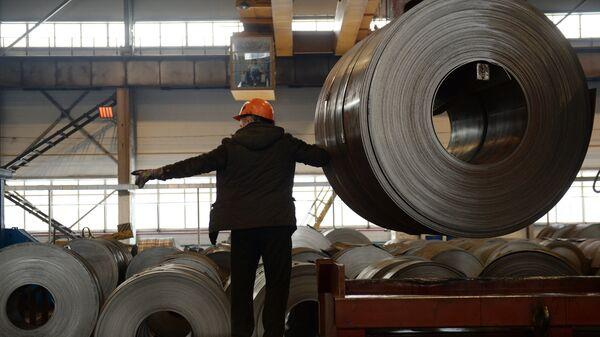 L'acciaio laminato a freddo prodotto in Russia - Sputnik Italia