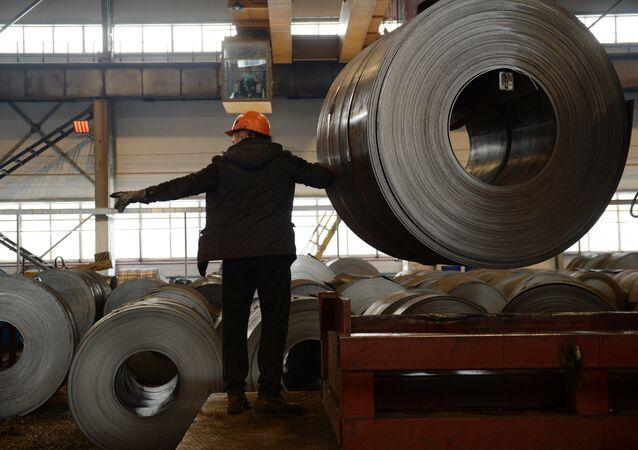 L'acciaio laminato a freddo prodotto in Russia