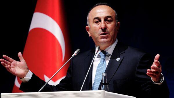 Ministro degli Esteri turco Mevlut Cavusoglu - Sputnik Italia