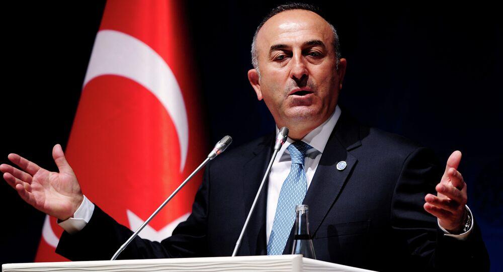 Ministro degli Esteri turco Mevlut Cavlusoglu.
