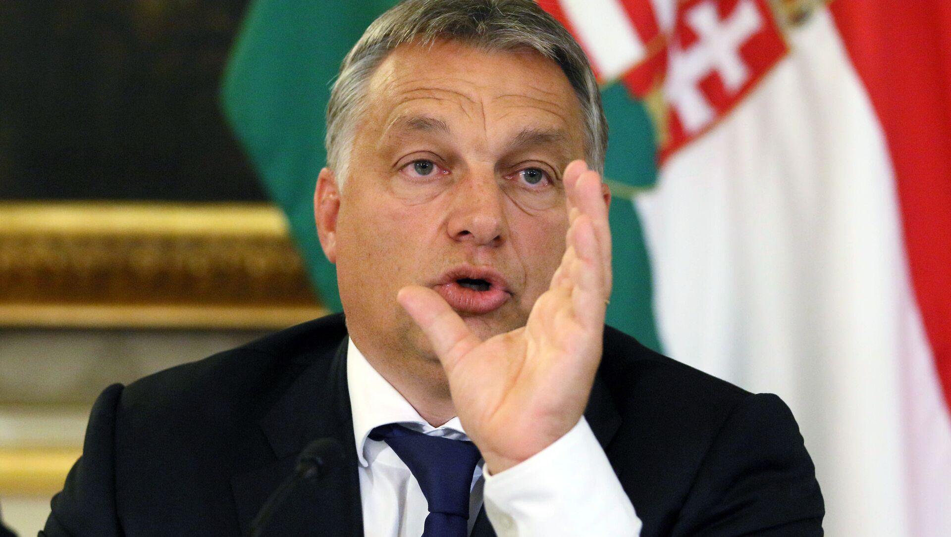 Il premier ungherese Viktor Orban - Sputnik Italia, 1920, 03.03.2021