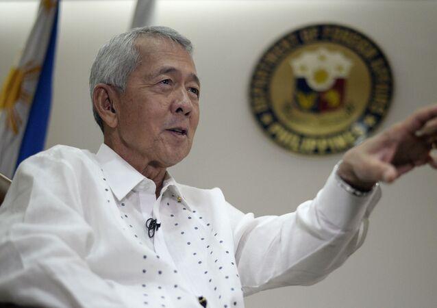 Ministro degli Esteri delle Filippine Perfecto Yasay