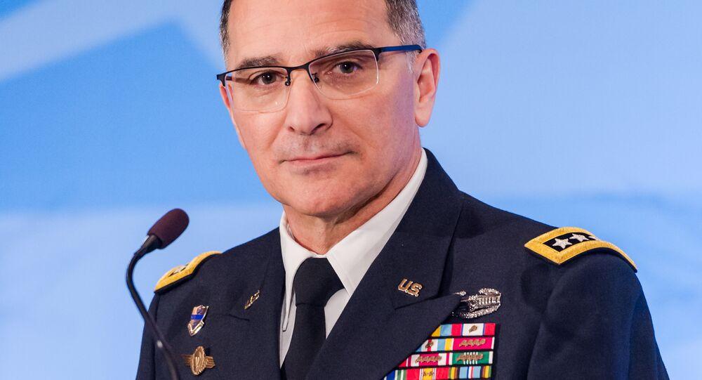 Generale dell'esercito statunitense Curtis Scaparrotti
