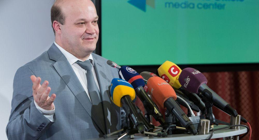 Valery Chaly, ambasciatore dell'Ucraina negli USA