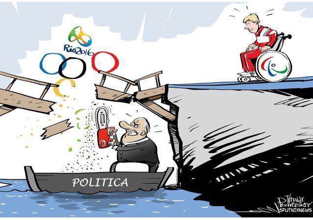Russia non ammessa alle Paralimpiadi 2016