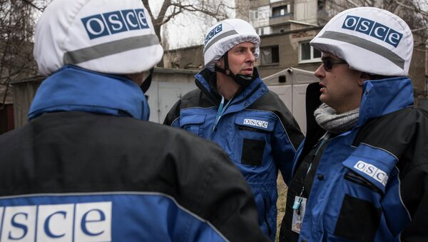 Ispettori OSCE - Sputnik Italia