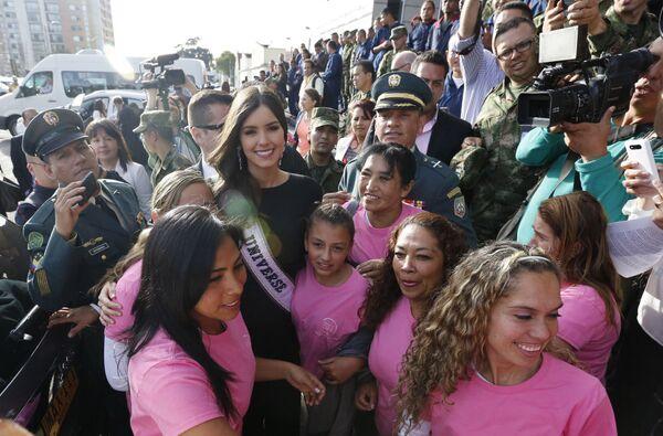 Miss Universo Paulina Vega. - Sputnik Italia