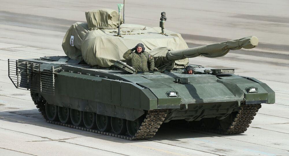 Il carro armato Armata.