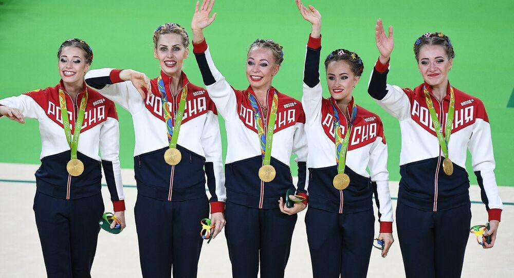 Atlete russe a Rio