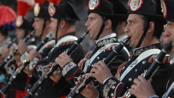 L'orchestra dei carabinieri - Sputnik Italia