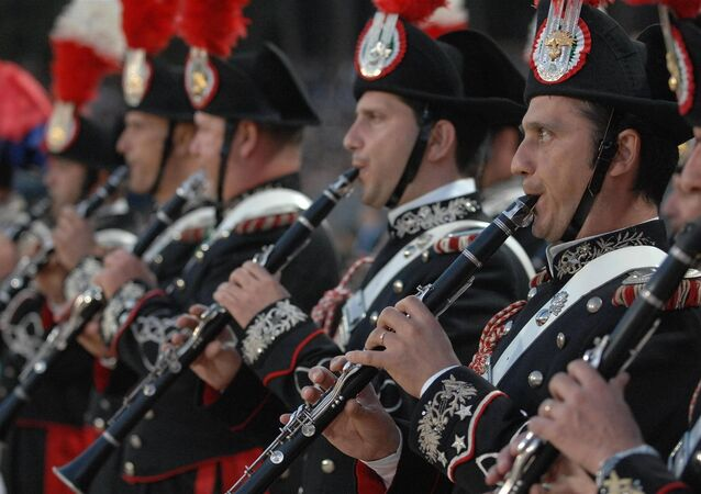 L'orchestra dei carabinieri