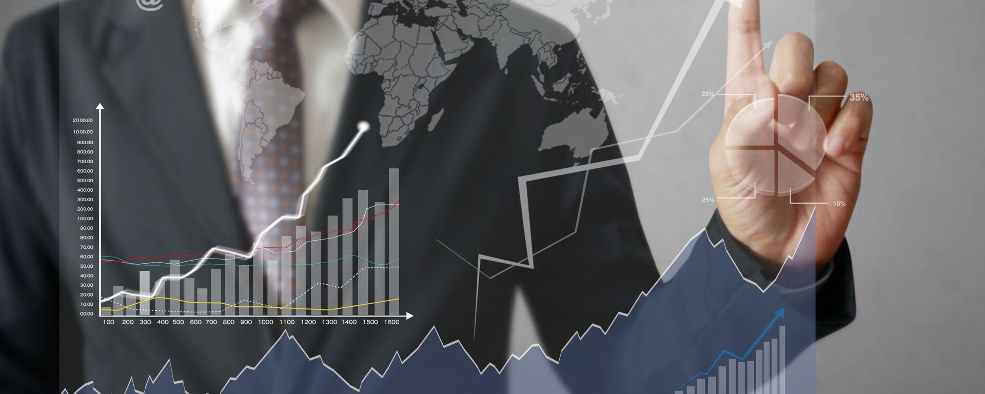 economia grafico - Sputnik Italia, 1920, 01.02.2021