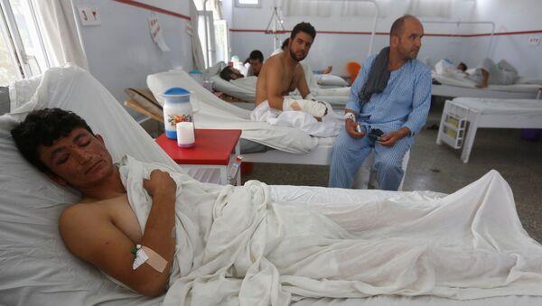 Sopravvissuto dell'attacco contro l'American University a Kabul - Sputnik Italia