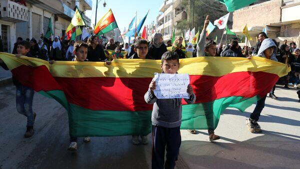 Una dimostrazione curda - Sputnik Italia