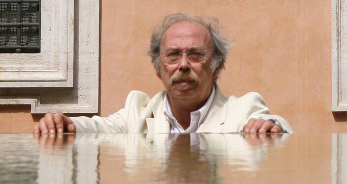 """Sergio Frau, autore del libro """"Le Colonne d'Ercole"""""""