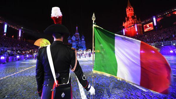Le orchestre dei corpi militari di 12 paesi del mondo si esibiscono sulla Piazza Rossa di Mosca. - Sputnik Italia