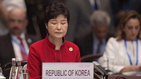 Presidente della Corea del Sud Park Geun-Hye - Sputnik Italia