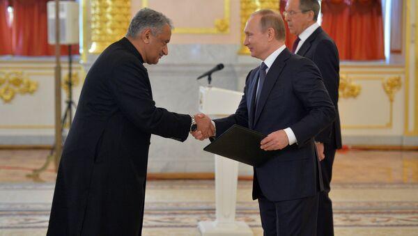 Vladimir Putin e Qazi Khalilullah - Sputnik Italia