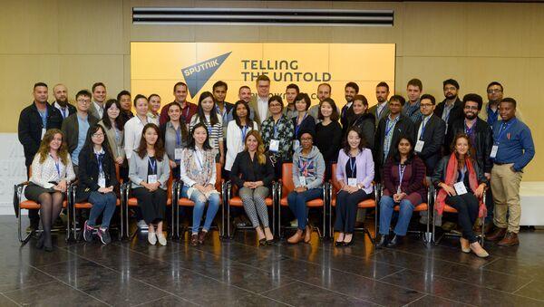 La scuola dei giovani giornalisti di Sputnik - Sputnik Italia