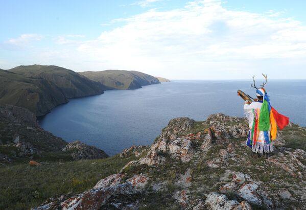 Che meraviglia il lago Baikal! - Sputnik Italia