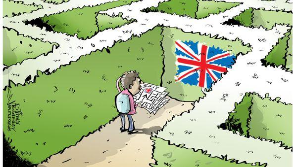Gran Bretagna vuole costruire un muro contro migranti - Sputnik Italia