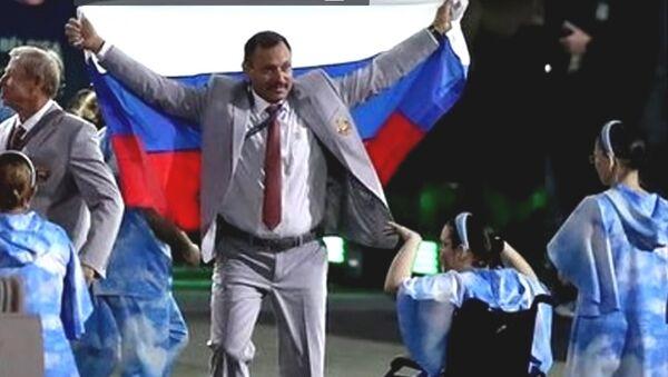 La bandiera russa sfila lo stesso a Rio - Sputnik Italia