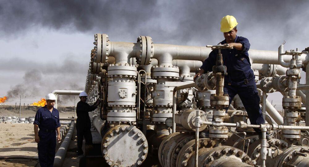 Produzione petrolio