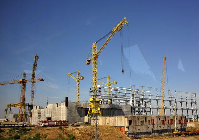 Cantiere della centrale nucleare Belene - Bulgaria (foto d'archivio)