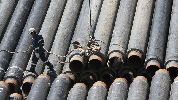 Costruzione gasdotto - Sputnik Italia