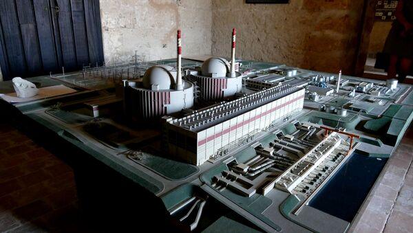 Modello di una centrale nucleare - Sputnik Italia