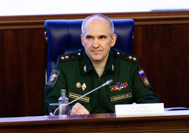 Il tenente generale Sergei Rudskoy