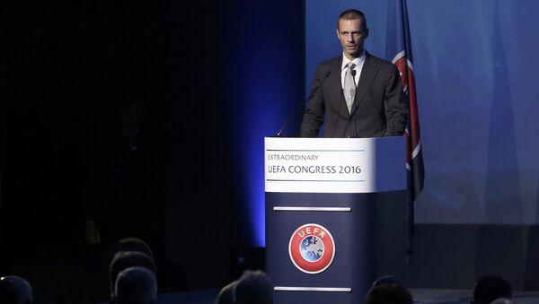 Aleksander Ceferin, presidente dell'UEFA - Sputnik Italia
