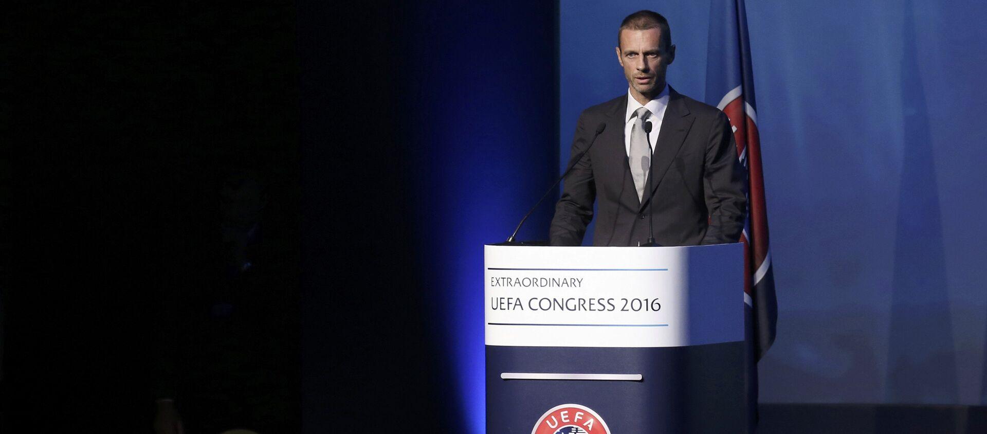 Aleksander Ceferin, presidente dell'UEFA - Sputnik Italia, 1920, 19.04.2021