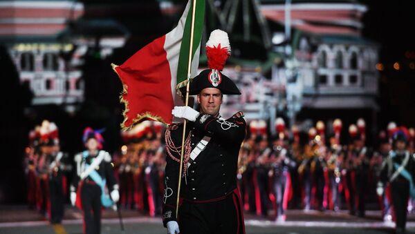La Banda dei Carabinieri ha conquistato Mosca - Sputnik Italia