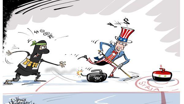 Coalizione USA attacca l'esercito siriano - Sputnik Italia