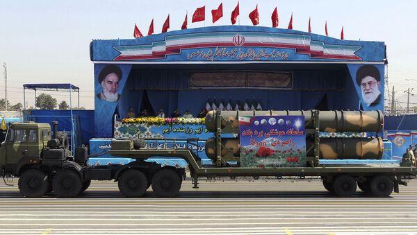S-300 in parata militare del 21 settembre in Iran - Sputnik Italia