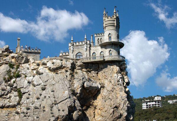 Il castello Nido di rondine, Crimea. - Sputnik Italia