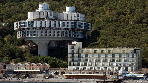 La casa di salute Curpati vicino al mar Nero, Crimea. - Sputnik Italia