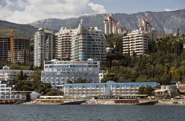 I palazzi a Jalta, Crimea. - Sputnik Italia