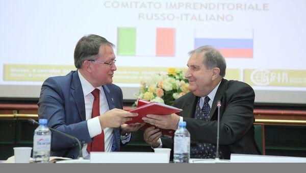 COmitato imprenditoriale italo russo - Sputnik Italia