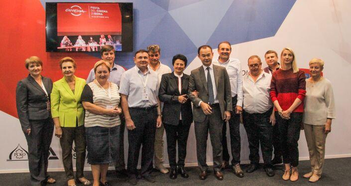 I partecipanti della fiera internazionale LineaPelle 2016