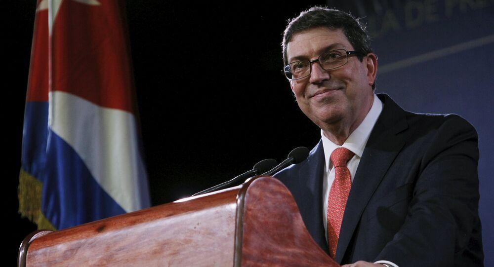 Bruno Eduardo Rodríguez Parrilla, ministro degli Esteri di Cuba (foto d'archivio)