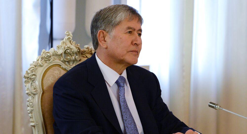 L'ex presidente del Kirghizistan Almazbek Atambayev
