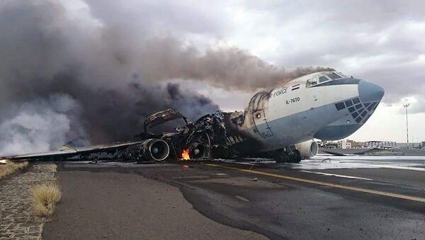 L'aeroporto di Sanaa nello Yemen - Sputnik Italia
