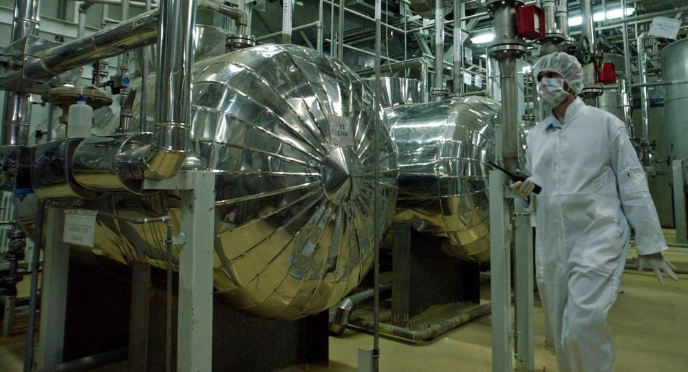 Un impianto nucleare in Iran