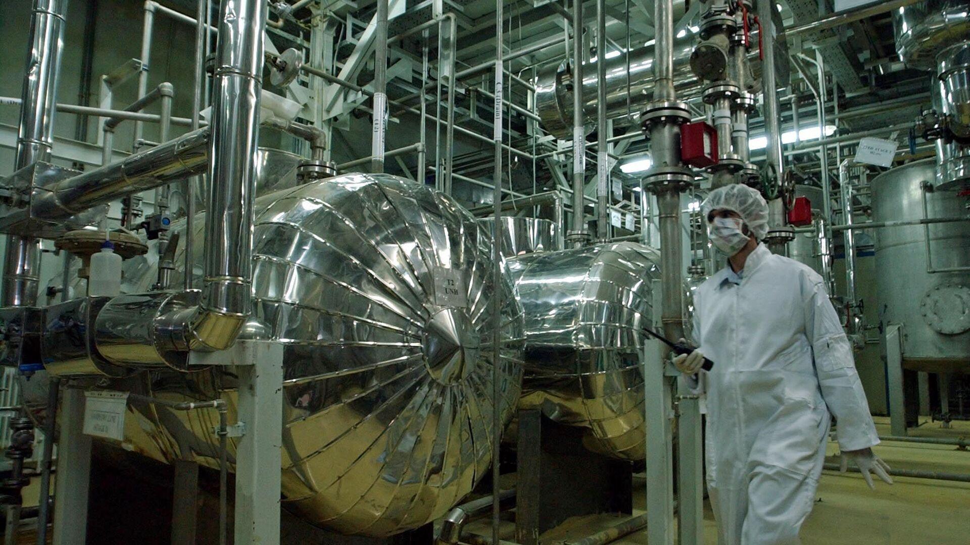 Un impianto nucleare in Iran - Sputnik Italia, 1920, 02.02.2021