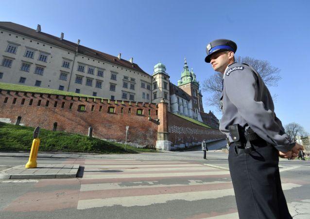 Un poliziotto polacco