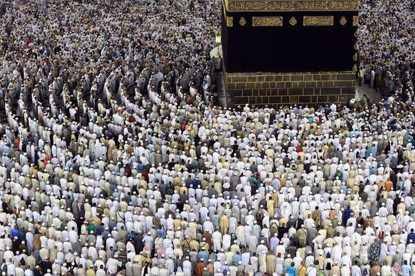 I pellegrini a Mecca. - Sputnik Italia