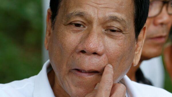 Rodrigo Duterte, presidente de Filipinas - Sputnik Italia